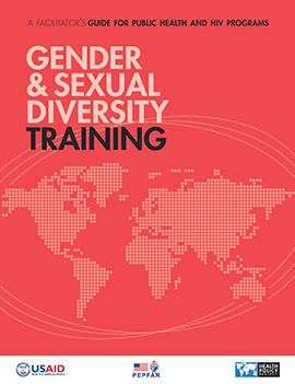 gender and sexual diversity training guide cover