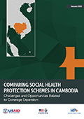 Comparing Social Health Protection Schemes in Cambodia