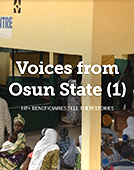 Voices from Osun: HP+ Beneficiaries Tell Their Stories