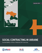 Social Contracting in Ukraine: Sustainability of Non-Medical HIV Services