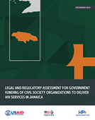 Legal and Regulatory Assessment for Government Funding of Civil Society Organizations to Deliver HIV Services in Jamaica