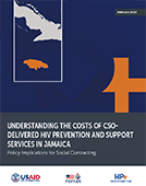 Understanding the Costs of CSO-Delivered HIV Prevention and Support Services in Jamaica