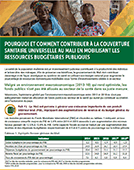 Why and How to Contribute to Universal Health Coverage in Mali by Mobilizing Public Budgetary Resources