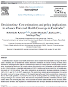 Decision time: Cost estimations and policy implications to advance Universal Health Coverage in Cambodia