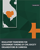 Regulatory Framework for Government Funding of Civil Society Organizations in Cambodia