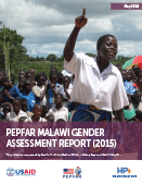 PEPFAR Malawi Gender Assessment Report (2015)
