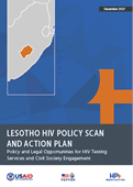 Lesotho HIV Policy Scan and Action Plan