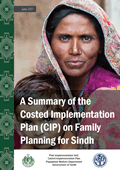 A Summary of the Costed Implementation Plan on Family Planning for Sindh