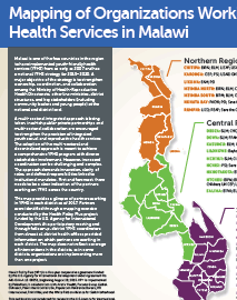 Mapping of Organizations Working in Youth-friendly Health Services in Malawi
