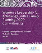 Women's Leadership for Achieving Sindh's Family Planning 2020 Commitments: A Focus on Youth