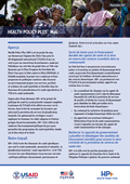 Health Policy Plus: Mali (French)