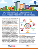 Health Policy Plus: Family Planning-Sustainable Development Goals Model (Overview)