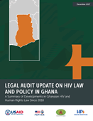 Legal Audit Update on HIV Law and Policy in Ghana