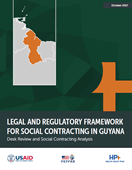 Legal and Regulatory Framework for Social Contracting in Guyana: Desk Review and Social Contracting Analysis