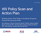 HIV Policy Scan and Action Plan
