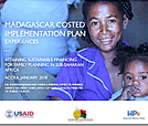 Madagascar Costed Implementation Plan: Experiences