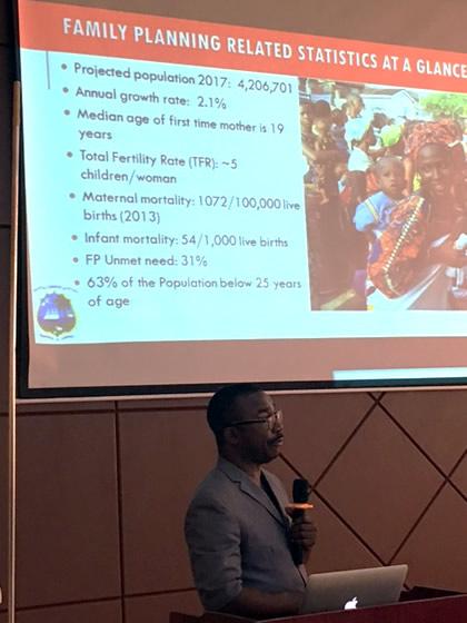 liberia surpasses goal kicks off development of family planning