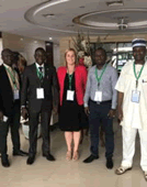 Health Informatics Team Hits the Ground in West Africa